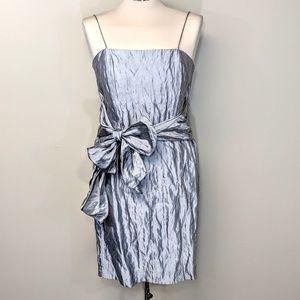 Zelda Silk Taffeta Slip Dress